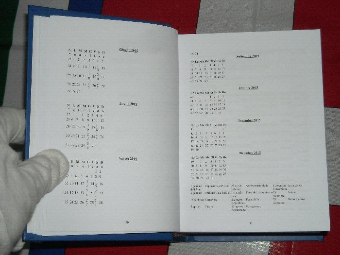 Onomastici Calendario.Calendario Reale